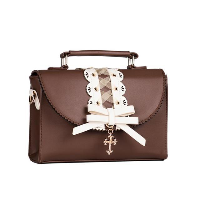 Купить harajuku jk милая сумка лолита винтажная кружевная кавайная картинки цена