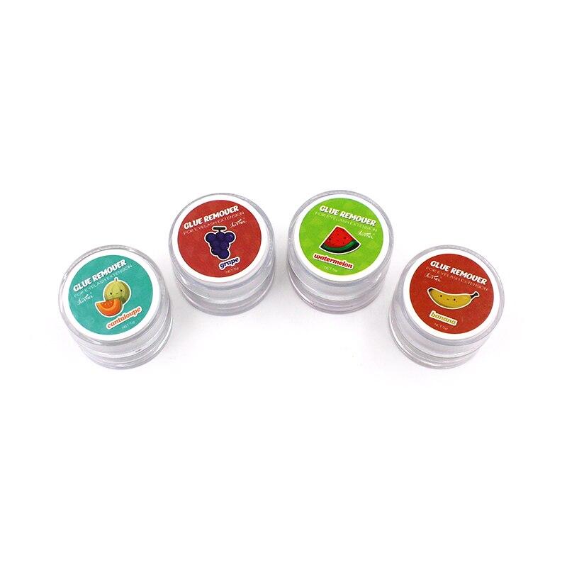 Yeni 5g meyve lezzet kirpik tutkal sökücü sıfır stimülasyon kirpik uzatma tutkal sökücü koku koku krem makyaj araçları
