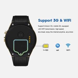 Image 3 - KW88 Pro Android 7.0 กล้องสมาร์ทนาฬิกา 1GB + 16GBนาฬิกาซิมการ์ด 3G WiFi GPS smartwatchเชื่อมต่อสำหรับXiaomi Huaweiโทรศัพท์IOS