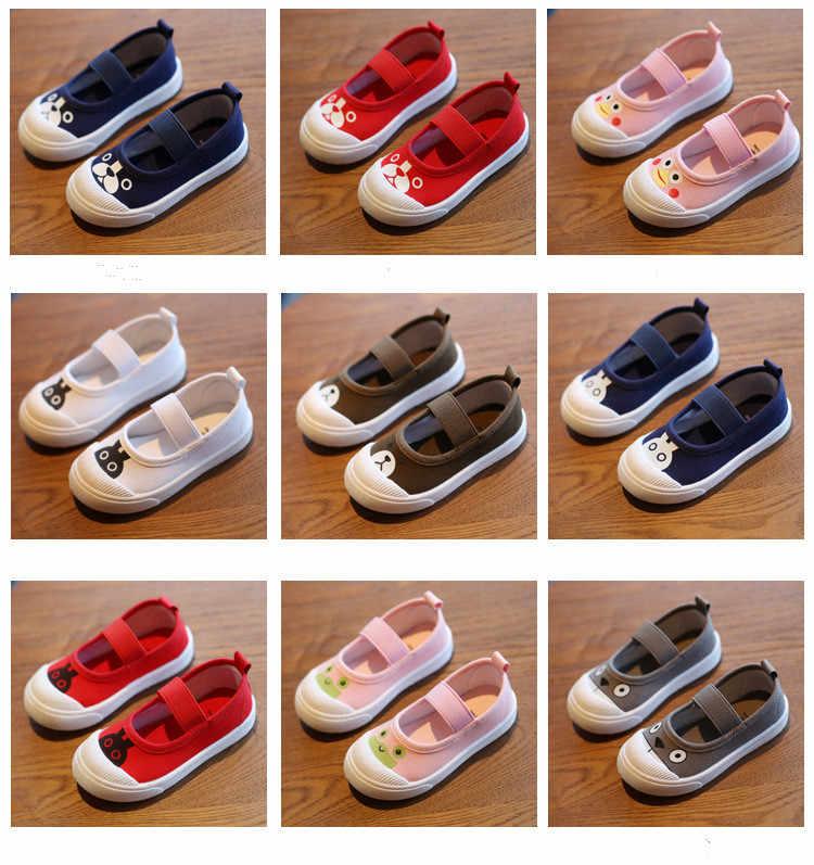 Zapatos de lona para bebé para bebés, niñas, niños, zapatos casuales, suaves, cómodos, antideslizantes, zapatos de punto para niños al aire libre