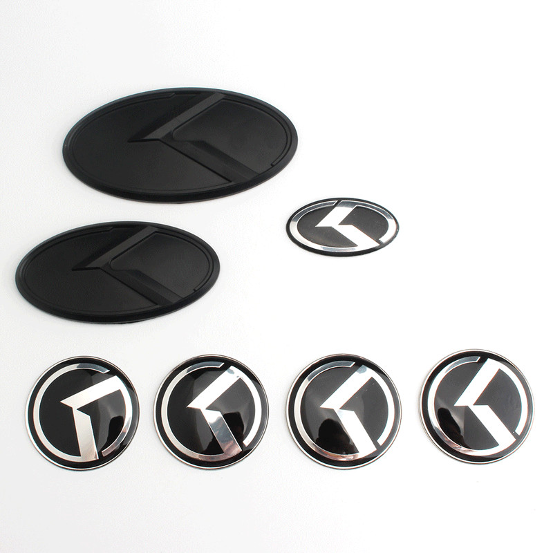 Kia silicona ø50mm pegatinas llantas de emblema pegatinas tapacubos 4 trozo