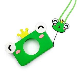 Image 5 - Besegad Leuke Cartoon Dier Siliconen Beschermhoes Cover Skin Shell met Lanyard voor Kinderen Kids Digitale Camera Camcorder