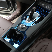 4pcs for haval F7 F7X Gear position panel Water cup rack Decorative frame Stainless steel