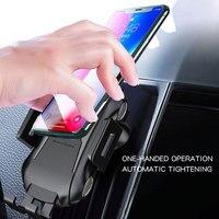 IMIDO10W Touch Sensing Wireless Auto Schnell Ladegerät für iPhone XR/X Galaxy Note 9 Automatische Spann Schnelle Lade Telefon halter|Kabellose Ladegeräte|Handys & Telekommunikation -