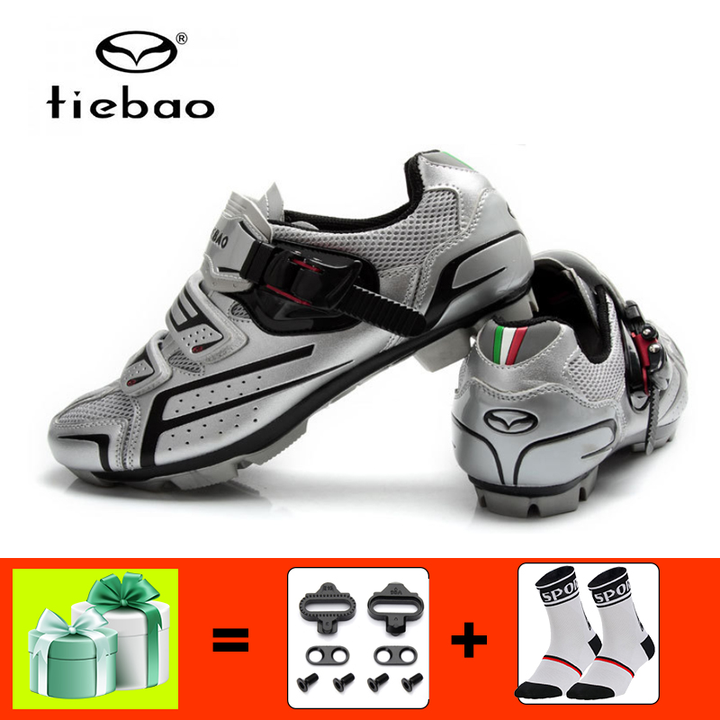 Tiebao Sapatilha Ciclismo Mtb Cycling Shoes Men Women Mountain Bike Shoes Cleats Bicycle Mtb Bike Shoes Self-locking Breathable