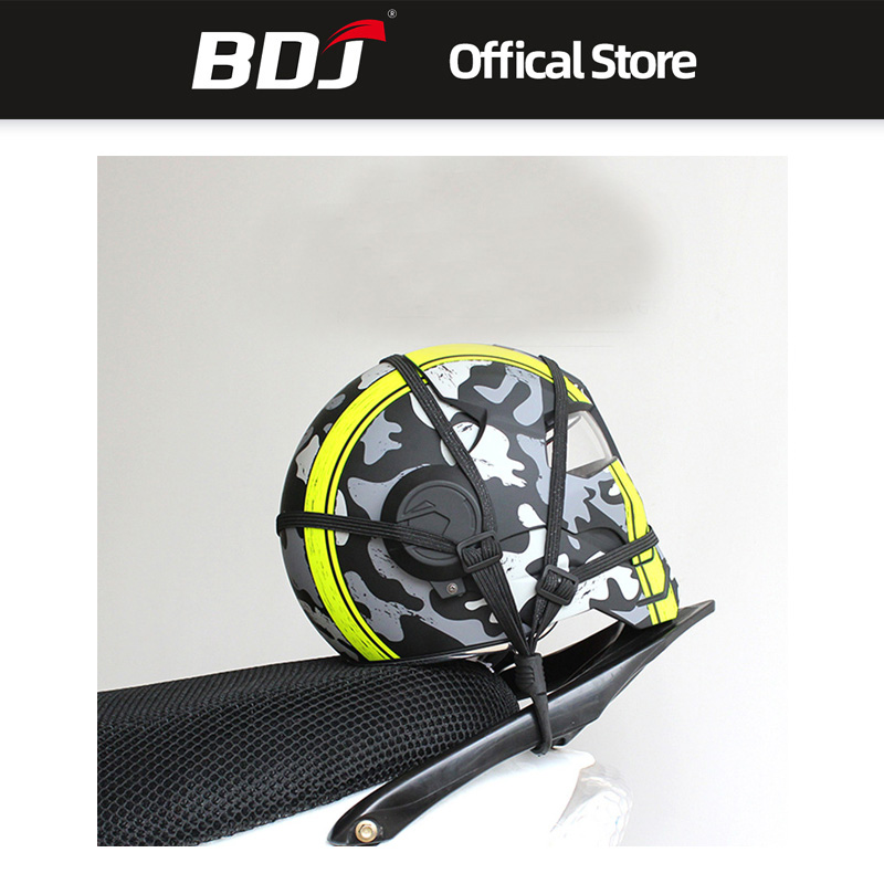 BDJ Free Shipping Universal Helmet Mesh Motorcycle Accessories Net Motorcycle Luggage Net Protective Gears Luggage Hooks