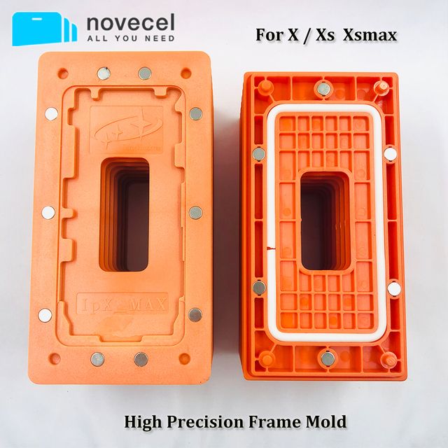 Frame Holding Mold for iPhone 11 pro Max X Xs Xsmax Lcd Glass Bezel Magnetic Position and Laminating Mobile Phone repair fixture