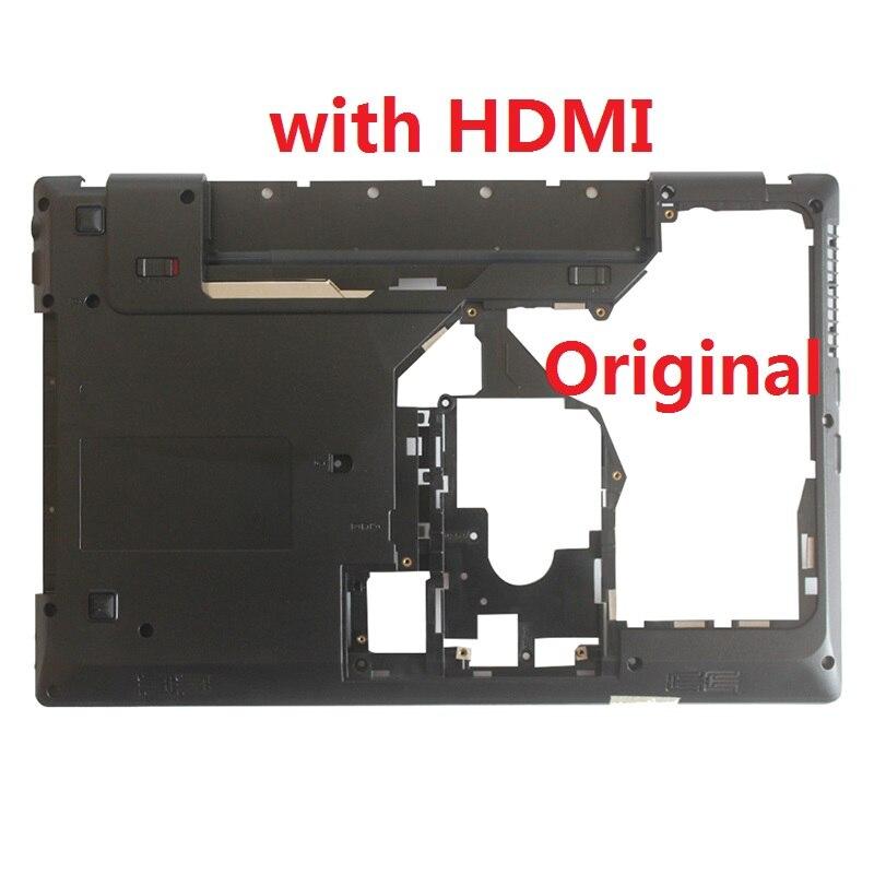 New Laptop Bottom Cover For Lenovo G570 G575 Bottom Case Base Black With