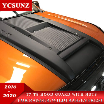 Bonnet Scoop Hood with nuts parts accessories For Ford ranger T7 T8 2016-2019 2020 Wildtrak Endeavour Everest 2016-2019 ycsunz