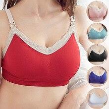 Бюстгальтер для грудного вскармливания бюстгальтер для беременных женщин нижнее белье бюстгальтер без косточек кружево