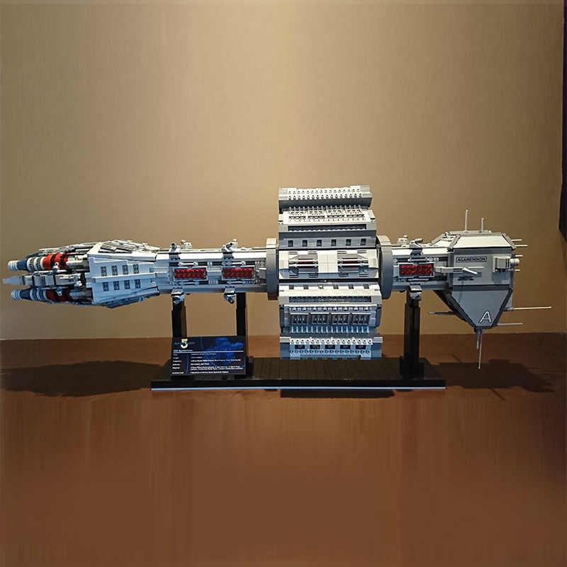 Звездные игрушки, войны, совместимые с Lepining MOC-12902 EAS Agamemnon, набор строительных блоков, кирпичи, сборочные игрушки, детские рождественские подарки
