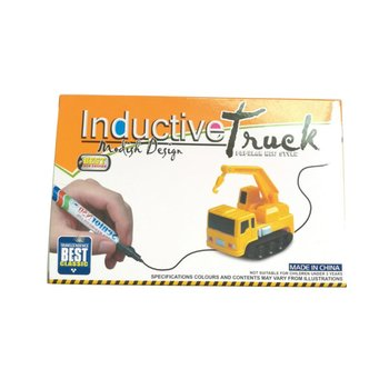 Hot ! Automatic Inductive Tank Toy Vehicles Cars Construction Truck Inductive Tank Toys for Children Without Battery