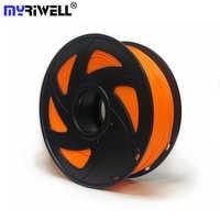 Myriwell 3D Printer PLA Filament 1.75mm 1KG Good Quality ABS Plastic Filament High Strength 3D Printing Filament