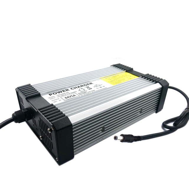 XINMORE AC-DC 87V 4.5A 4A Lead Acid Battery Charger for 72V Power Polymer Scooter Ebike for Electric bicycle & CD Player