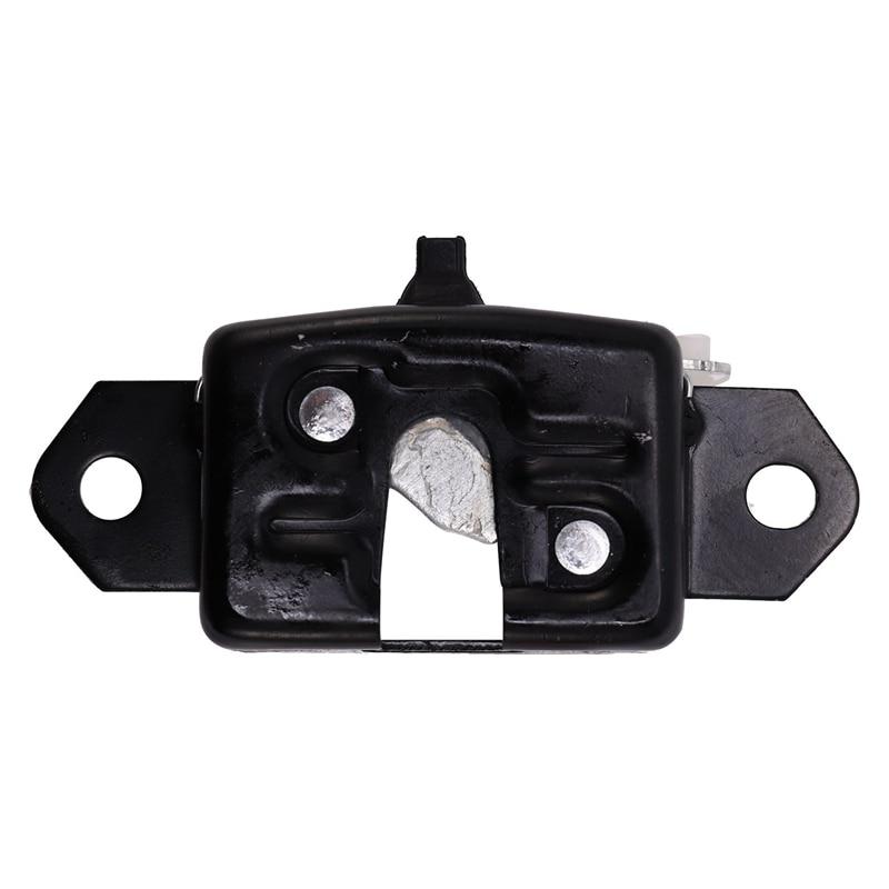 1 Pcs Black Car Tailgate Lock Rear Door Lock Tail Door Lock for Nissan Navara D40 2004 2012 90503 JT30A 90503 EB700|Door Lock Protective Cover| |  - title=