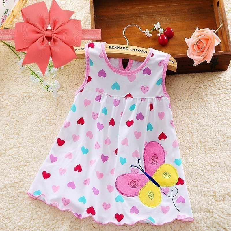 Baby  Clothes Headband Dress For Girls Dresses 2018  Baptism 1st Birthday Dresses For Girls Kids Vestido Infantil Robe Fille