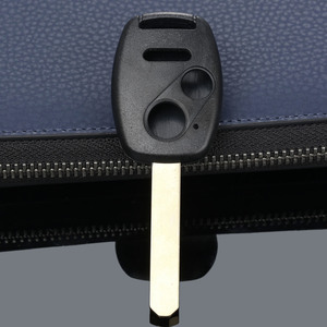 Image 3 - 3 버튼 Repalcement Keyless Entry 원격 키 Fob 쉘 케이스 HONDA Accord Pilot Civic CR V 자동차 커버 용 키 언컷 블레이드