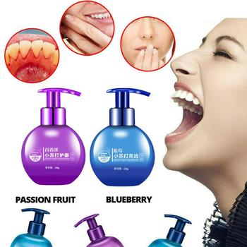 Natural Herb Intensive Stain Removal Whitening Toothpaste Fruity Flavor Fight Bleeding Gums Toothpaste Oral Care 220g