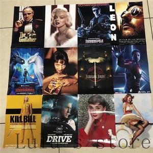 Темные постеры ТВ-шоу настенные наклейки украшение дома яркий цвет