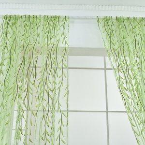 Yarn Curtain Window Tulle Curt
