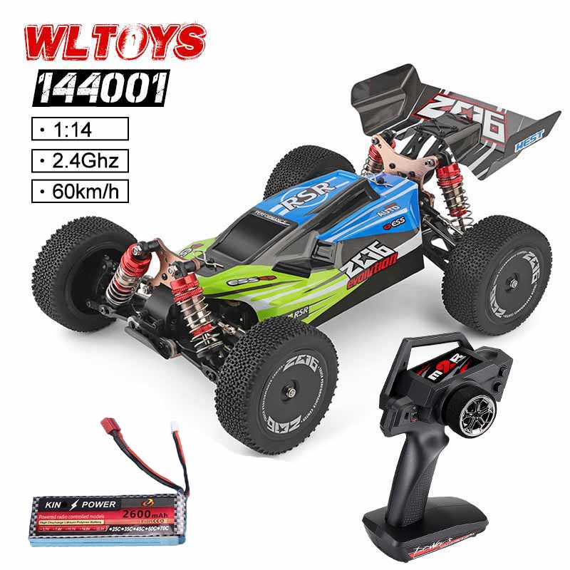 Crawler Model-Toys Remote-Control-Car Drifting 60km/H 1:14-144001 Rc Vehicle 4WD High-Speed