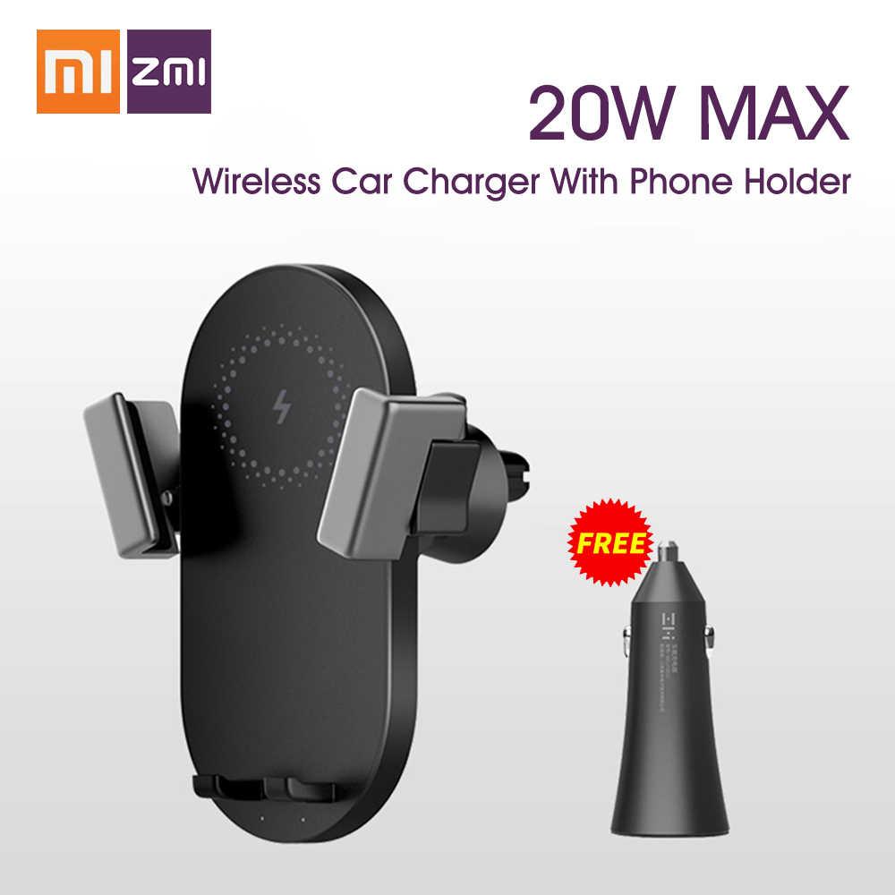 ZMI Kits 20W Wireless Car Charger Phone Holder WCJ10 Fast