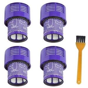 4 шт моющийся фильтр для Dyson V10 Sv12 Cyclone Animal абсолютный чистый пылесос