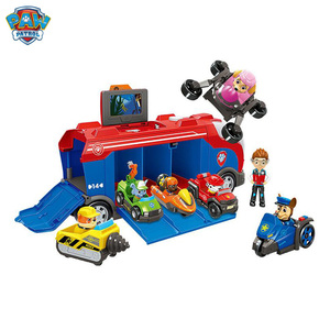 Image 3 - Paw Patrol Dog Series Set Bus Rescue Team Toy Car Patrulla Canina Action Figure Toy Model Children Christmas Birthday Gift