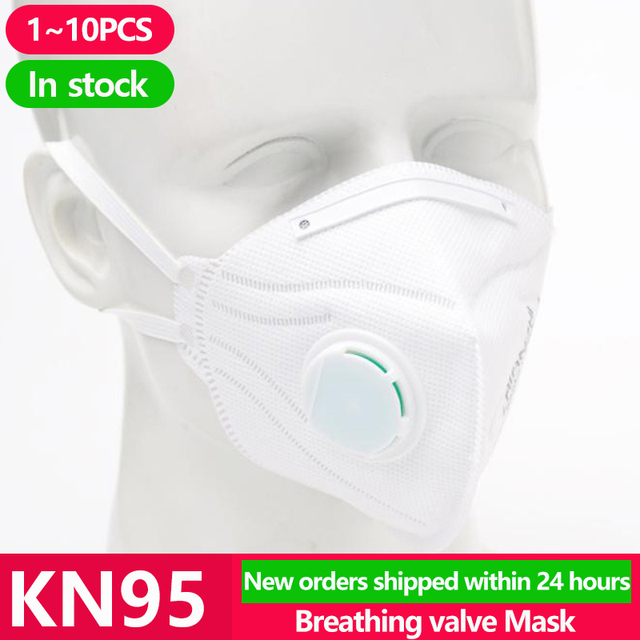 [1~10PCS] KN95 Disposable Face N95 KF94 Surgical Mask Anti Coronavirus Mouth Cover Facial Dust Pm2.5 FFP2 Ffp3 Respirator Masks 1