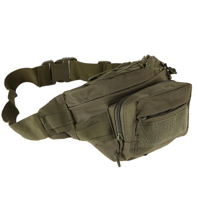 Outdoor Military Tactical Waist Pack Shoulder Bag Molle Camping Hiking Pouch
