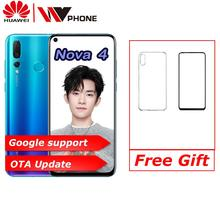 Huawei nova 4 nova4 6.4 inch 3 rear Camera Mobile P