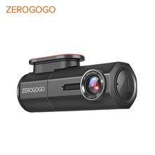 ZEROGOGO DVR كاميرا صغيرة داش واي فاي جهاز تسجيل فيديو رقمي للسيارات كامل HD 1080P كاميرا السيارات مسجل للسيارة للرؤية الليلية نوفاتيك 150 درجة G الاستشعار
