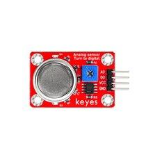 MQ135 Датчик качества воздуха экологический бытовой Обнаружение опасных газов портативный мини Высокочувствительный практичный для Arduino