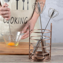 1pc Semi-automatic Mixer Egg Beater Manual Self Turning Stainless Steel Whisk Hand Blender Egg Cream Stirring Kitchen Tools semi automatic egg beater 304 stainless steel egg whisk manual hand mixer self turning egg stirrer kitchen accessories egg tools