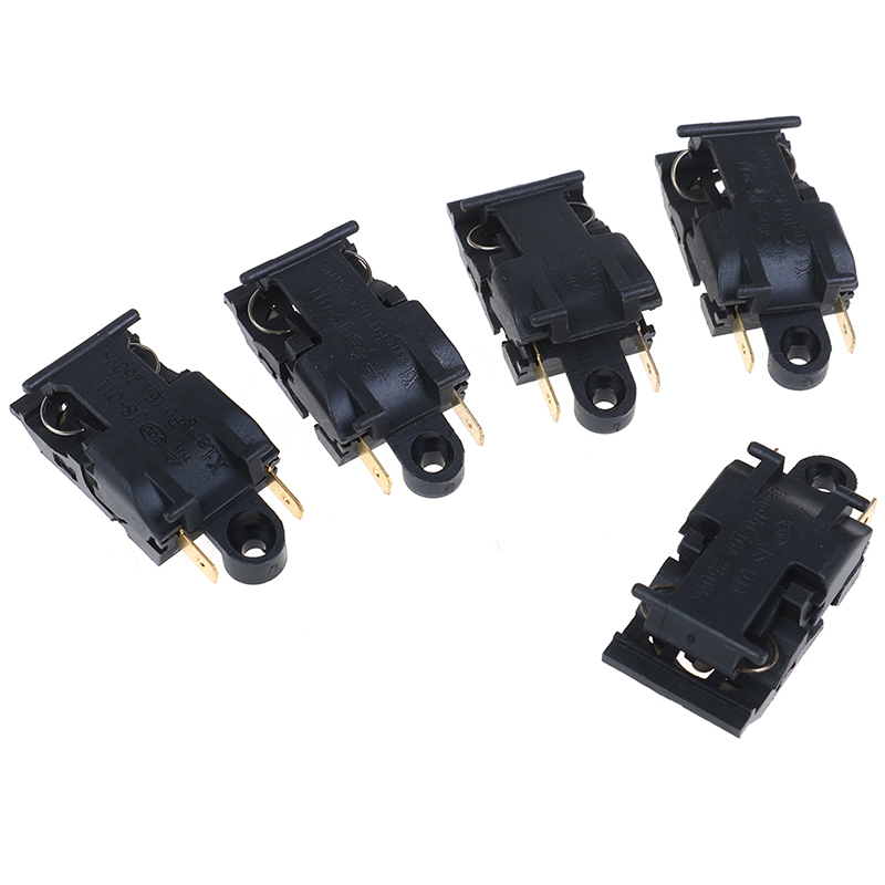 5pcs 16A Boiler Thermostat Switch Electric Kettle Steam Pressure Jump Switch