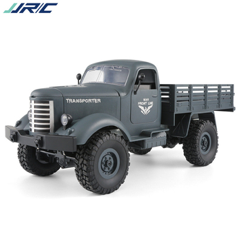 Jjrc Q60 Rc 1:16 Toy Truck Remote Control 2.4G 6WD Tracked Off-Road With Bateria Car Toys For Children Boys Cars Q61