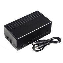 12V 1A 14.8W Mini UPS Batterij Backup Beveiliging Standby Power Voeding Uninterruptible Voeding