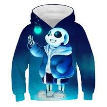 Sweat-shirt à capuche pour enfants, nouvelle collection, dessin animé, sans conte, imprimé en 3D, garçons et filles, automne/hiver, 2021