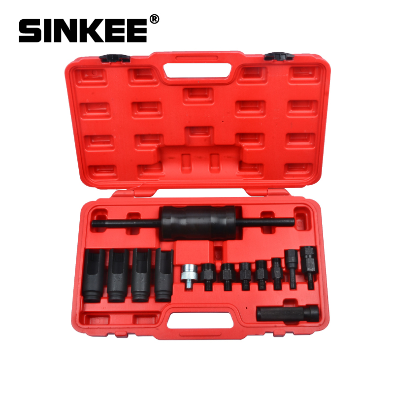 6 Pcs Diesel Injector Removal Kit M14 M17 M20 M25 M27