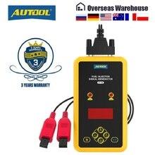 AUTOOL CT60 자동 연료 인젝터 테스터 연료 인젝터 노즐 플러싱 테스터 증가 CT150 CT200 펄스 청소 압력 테스터