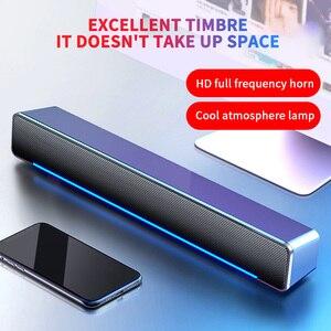 Bluetooth динамик проводной/уличный стерео Бас Звуковая Панель для телевизора дома спальни USB энергосберегающий для ноутбука ПК настольного ко...