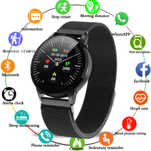 New fashion steel Waterproof women smart watch Fitness tracker smart band watch sport for iPhone Fitness Bracelet for men women new snake table wholesale fashion jewelry for men and women present binary watch for waterproof led lovers steel band watch