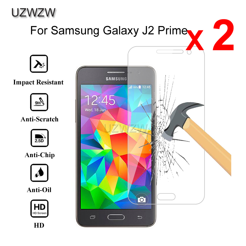2pcs Premium Tempered Glass For Samsung Galaxy J2 Prime G532 Protective Glass Screen Protector For Samsung J2 Prime Glass