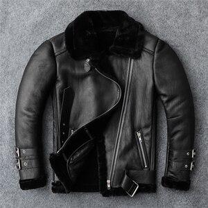 Image 5 - Manteau dhiver en fourrure 100%, veste en cuir véritable pour femmes, vêtements en laine de mouton, à la mode, vêtements de peau de mouton, de grande taille, livraison gratuite