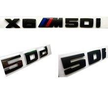 Etiqueta do carro Styling ABS Material de Emissões De Combustível para BMW E46 M50d X3 X4 X5 X6 E46 E30 E28 E90 E60 E39 E36 F30 Auto Acessórios
