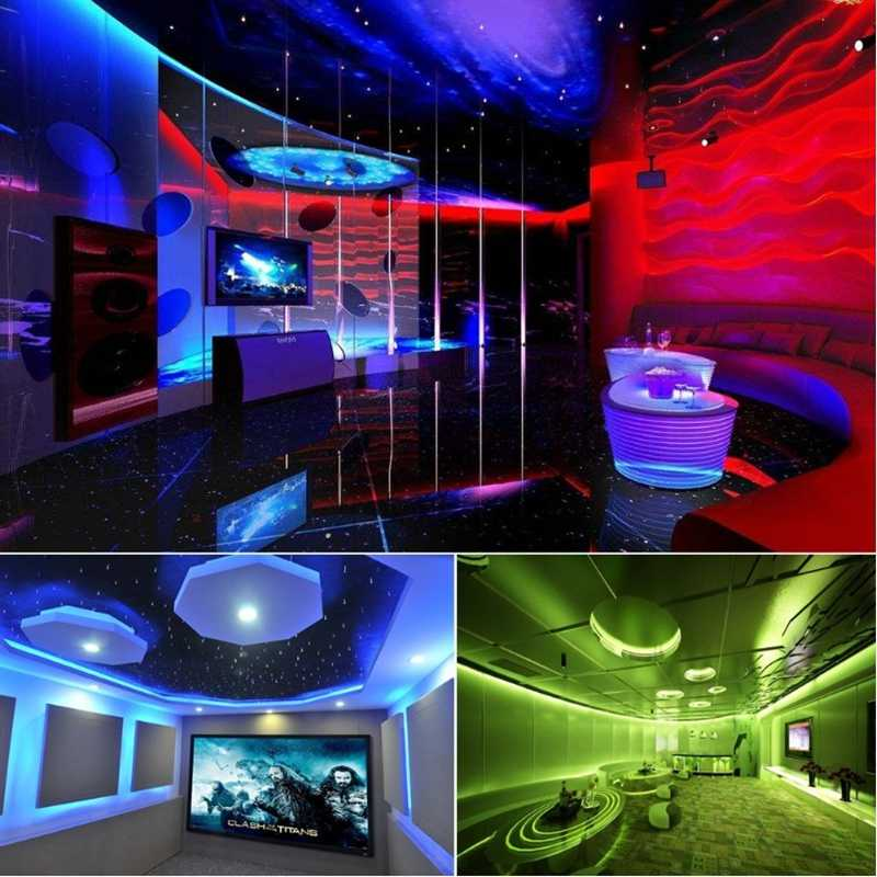 LED مصباح شريط التنغستن 2835SMD DC12V مرنة LED شريط ضوء الشريط 5M 300LED للماء الشريط للتلفزيون خلفية باب مرآة خشبي جدار الدرج