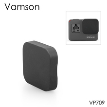 Vamson для Gopro Hero 7 Black 6 5 защитный чехол для объектива аксессуары Защитная крышка черная для Gopro Hero 5 камера VP709