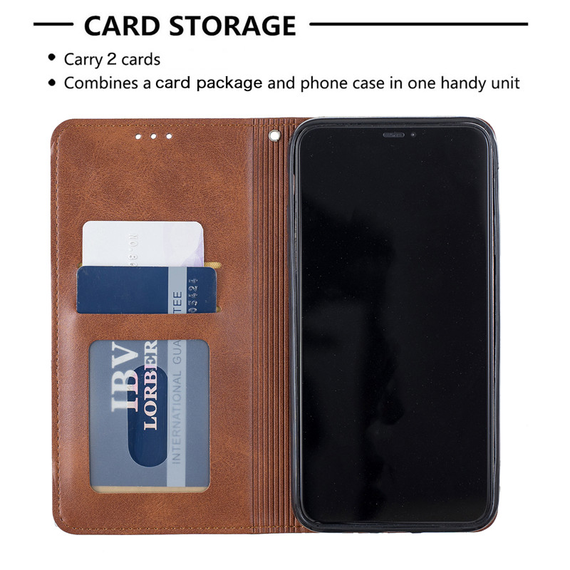 Luxury Flip Leather Wallet Case for iPhone 11/11 Pro/11 Pro Max 1