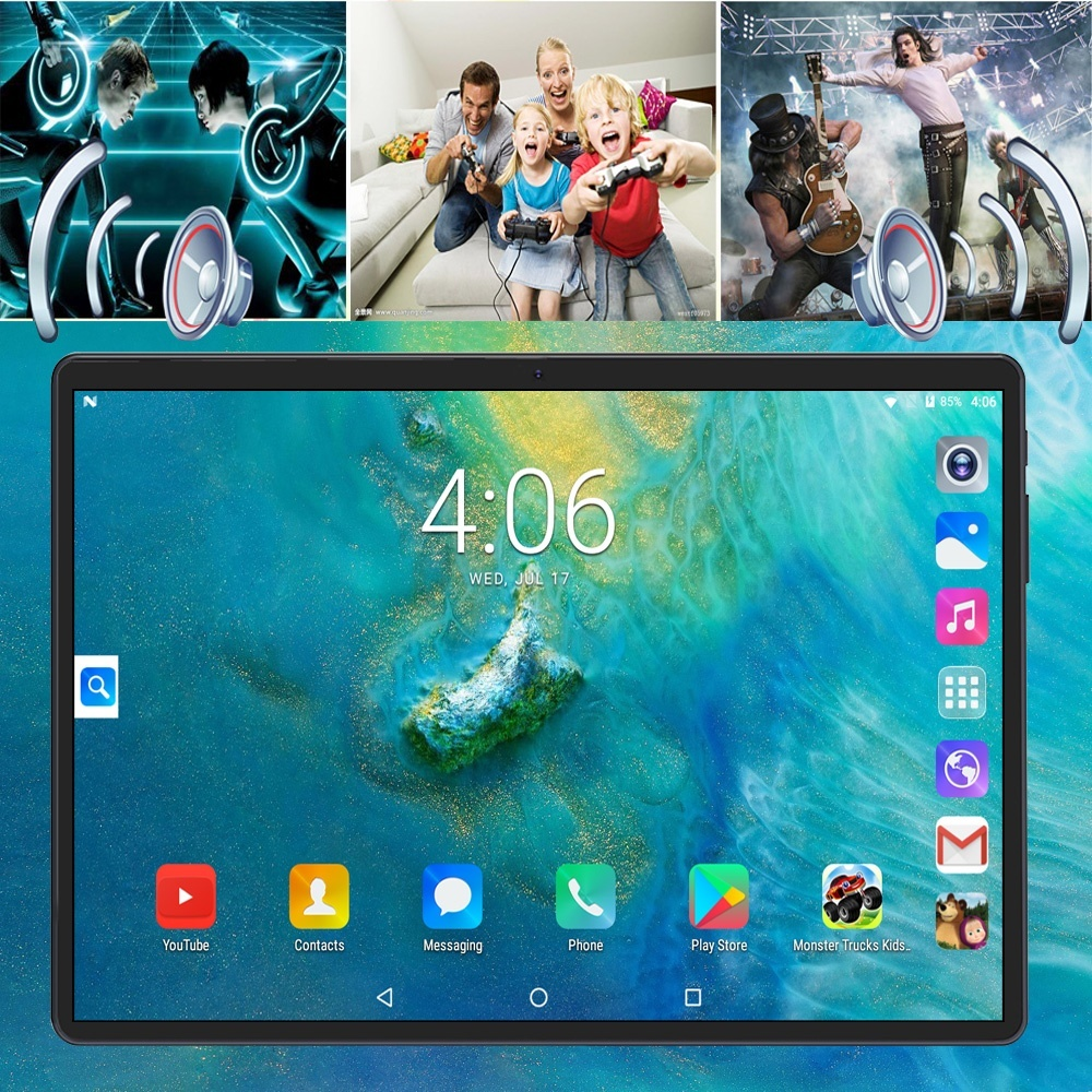 2020 10.1 Inch Tablet Pc Android 8.0 Ten Core 6GB+128GB Dual Camera SIM Tablet PC Wifi Micro USB GPS Bluetoth Telephone Tablets