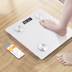 Bathroom Scales Bluetooth Floor Body Scale BMI Fat Scales LED Digital Smart Weight Scale Balance Body Composition Analyzer
